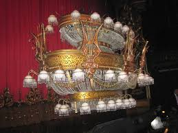 phantom of the opera chandelier elegant close encounters theatrical kind