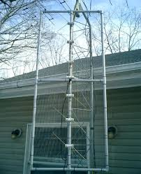 the antenna installed
