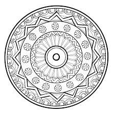 Mandala A Imprimer 3 Coloriage Mandalas Coloriages Pour Enfants
