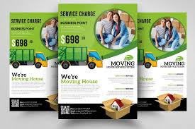 Moving Flyer Template Moving House Service Flyer Template