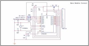 at89c4051 digital real time clock circuit electronic circuit at89c4051 digital real time clock circuit