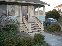 exterior handrails for concrete steps. exteriors:stunning front porch stairs step ideas using brown handrail and small railing fence also exterior handrails for concrete steps r