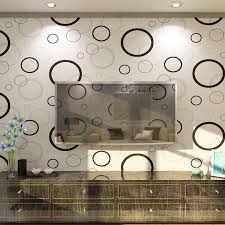 bubbles design embossed non woven wallpaper for walls living room