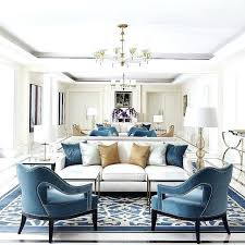 blue accent chairs for living room neutral with accents chair white sofas in