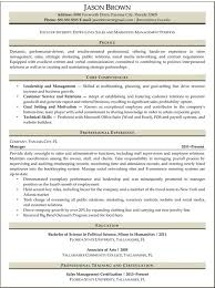 Entry-Level Marketing Resume Samples | Entry-level Sales and Marketing