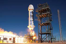 Jeff Bezos' Blue Origin Rocket Took Off ...