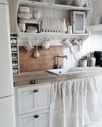 shabby chic kitchen furniture. shabby chic kitchen cabinet with lovely curtain skirt in two fabrics furniture c