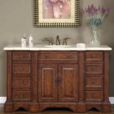 58 inch bathroom vanity double