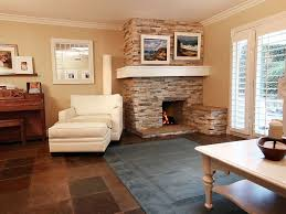 Corner Fireplace Living Room Living Room Design With Corner Fireplace Breakfast