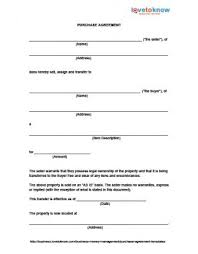 You fill out a form. Purchase Agreement Templates Lovetoknow