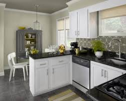 Wall Color For White Kitchen The Luxury Kitchen With White Color Cabinets Home And Cabinet