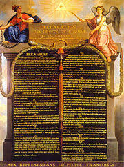 french revolution new world encyclopedia the ideals declaration of human rights the concept that the people of a nation are citizens rights was a fundamental assumption of the french