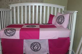 flamingo crib bedding zoom pink baby