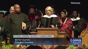 Betsy Devos Resume Betsy DeVos Delivers Bethune Cookman University Commencement 48