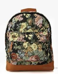 Городской <b>рюкзак Mi-Pac Premium Floral</b> Tapestry Black Tapestry ...