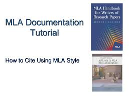 Mla Documentation Tutorial Ppt Download
