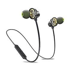 Dual Driver Bluetooth Earphones, Awei Wireless ... - Amazon.com