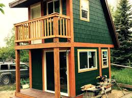tiny house with garage. Two Story Tiny House The Spacious Elegant With . Garage