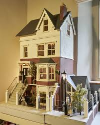 mini doll house furniture. original sid cooke dolls house complete with furniture figures lighting etc mini doll r