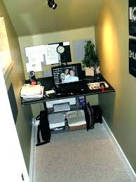 closet office ideas closet office ideas desk under stairs converted to pictures d small closet office ideas