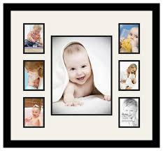 arttoframes collage photo frame with 1 10x13 and 6 3 5x5 openings