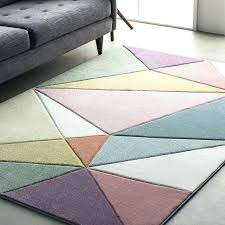 gray area rug purple and rugs street modern geometric carved pink