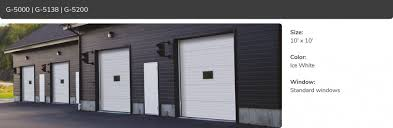 G-5000, G-5138, G-5200 | Commercial Garage Door Manufacturer | Garaga