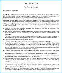 Sourcing Manager Resume B Category Manager Resume Purchasing ...