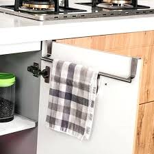 hanging towel on bar. Wonderful Towel Towel Bar On Door Easy Over Rack Hanging Holder Bathroom  Kitchen Cabinet Shelf Inside Hanging Towel On Bar