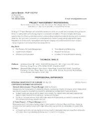 Engineering Manager Cv Examples Uk Nuevo Construction