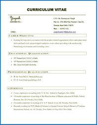 Resume Curriculum Vitae Difference Resume Curriculum Vitae Example