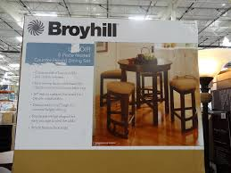 Broyhill Dining Room Table Broyhill Lenoir 5 Piece Counter Height Dining Set
