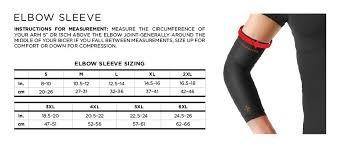 Nike Pro Combat Sleeve Size Chart