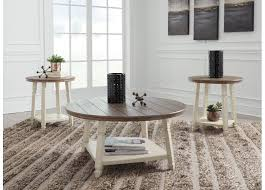 amy antique round wooden side table