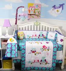 bedding sets soho designs image soho lavender owls party baby crib nursery bedding set 14