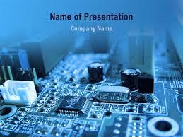 Powerpoint Circuit Theme Blue Circuit Powerpoint Templates Blue Circuit Powerpoint