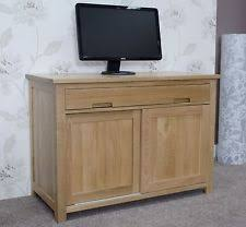 conran solid oak hidden home office. Boston Desk Computer Hidden Hideaway Solid Oak Office Furniture Conran Home O
