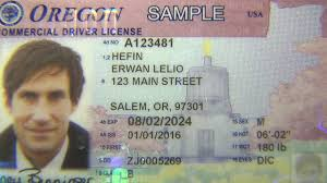Security License Driver Features Colors - Youtube Gets Stronger Oregon Bolder And