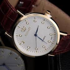 online buy whole platinum mens watches from platinum whole top brand rhinestone analog quartz watch 2016 new arrival leather strap watch women platinum plated