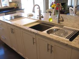 kitchen sink with cutting board and colander ideas