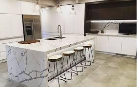 Grey and White Quartz countertops