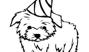 Printable Dog Coloring Pages Onefranklintowercom