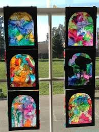 stained glass window art projects
