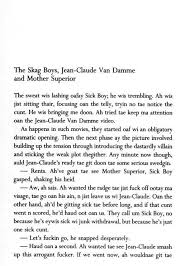 That First Page Trainspotting Irvine Welsh