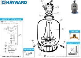 Hayward Pro Series Sand Filter S180t S210t S220t S244t Parts