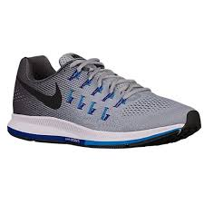 nike running shoes. nike air zoom pegasus 33 - men\u0027s running shoes wolf grey/blue glow/concord/black