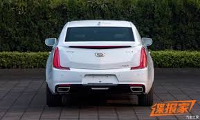 2018 cadillac diesel. brilliant 2018 2018 cadillac xts leaked  image via autohome throughout cadillac diesel