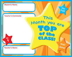 Student Of The Month Certificates Certificate For Student Of The Month Ctsm018 School Photo Marketing