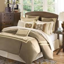 bedroom charming full size brown and white bedding set ideas white bedding set full
