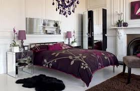 Purple And Black Bedroom Decor Top Black And Purple Bedroom Decorating Ideas On Bedroom With